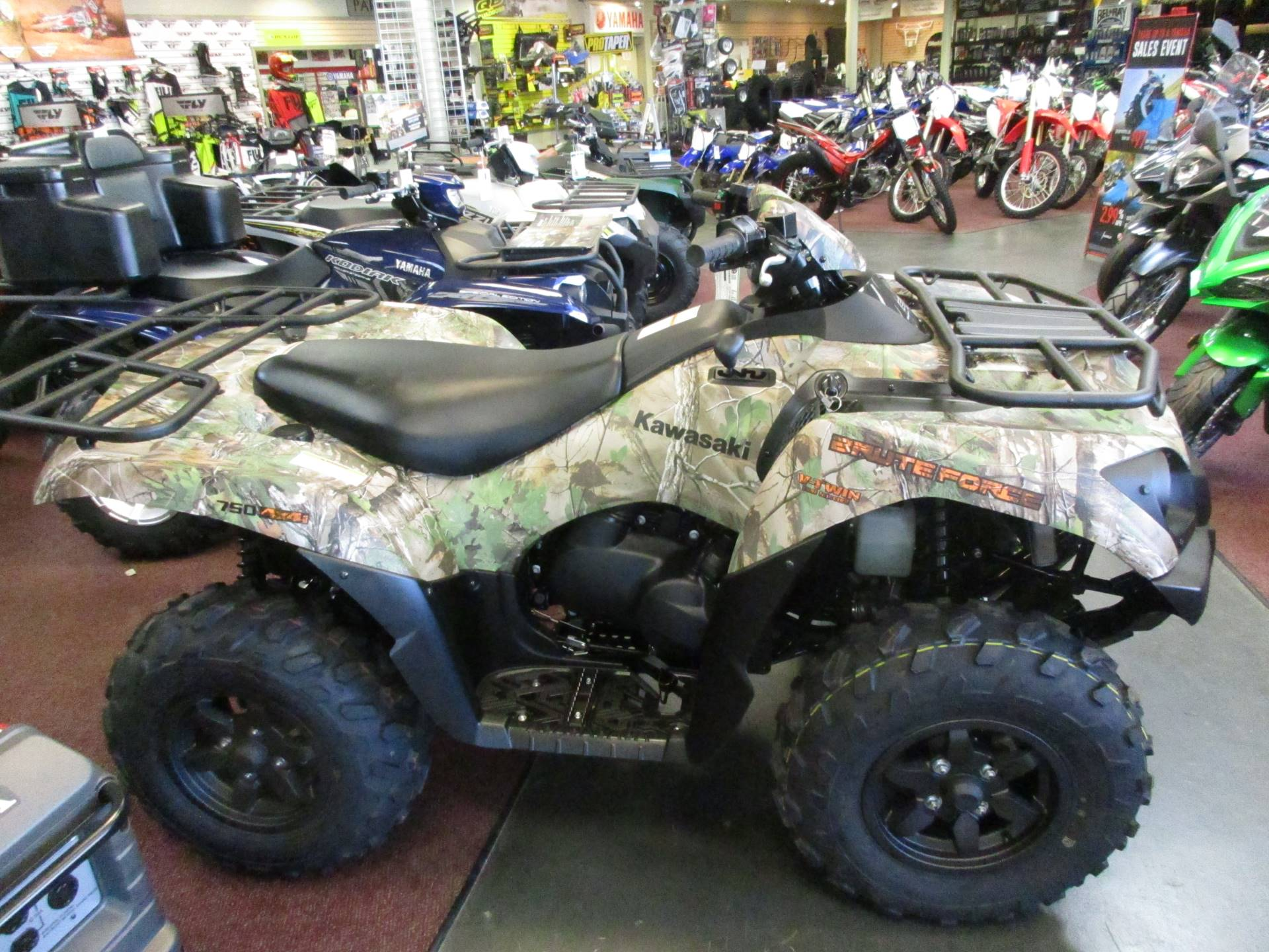 2017 Kawasaki Brute Force 750 4x4i EPS Camo for sale 47060