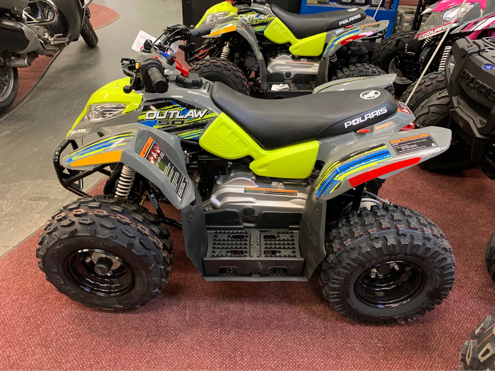 2019 Polaris Outlaw 50 in Petersburg, West Virginia
