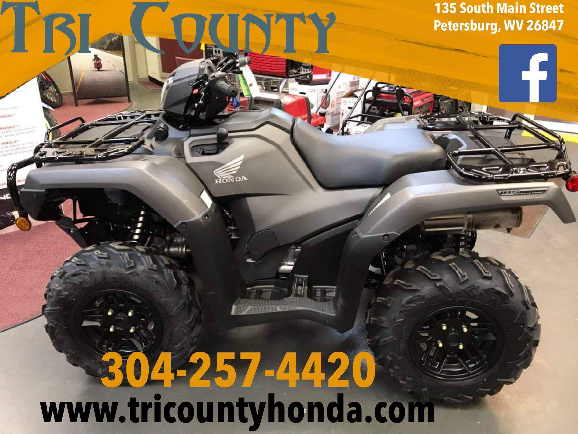 2019 Honda Fourtrax Foreman Rubicon 4x4 Automatic Dct Eps Deluxe In Petersburg West Virginia