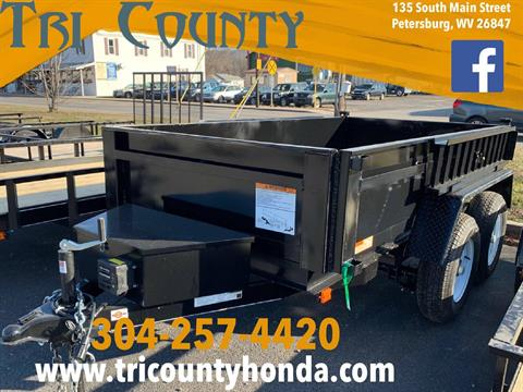 2019 Carry-On Trailers 5X10 DUMP W/ COMBO PACKAGE in Petersburg, West Virginia