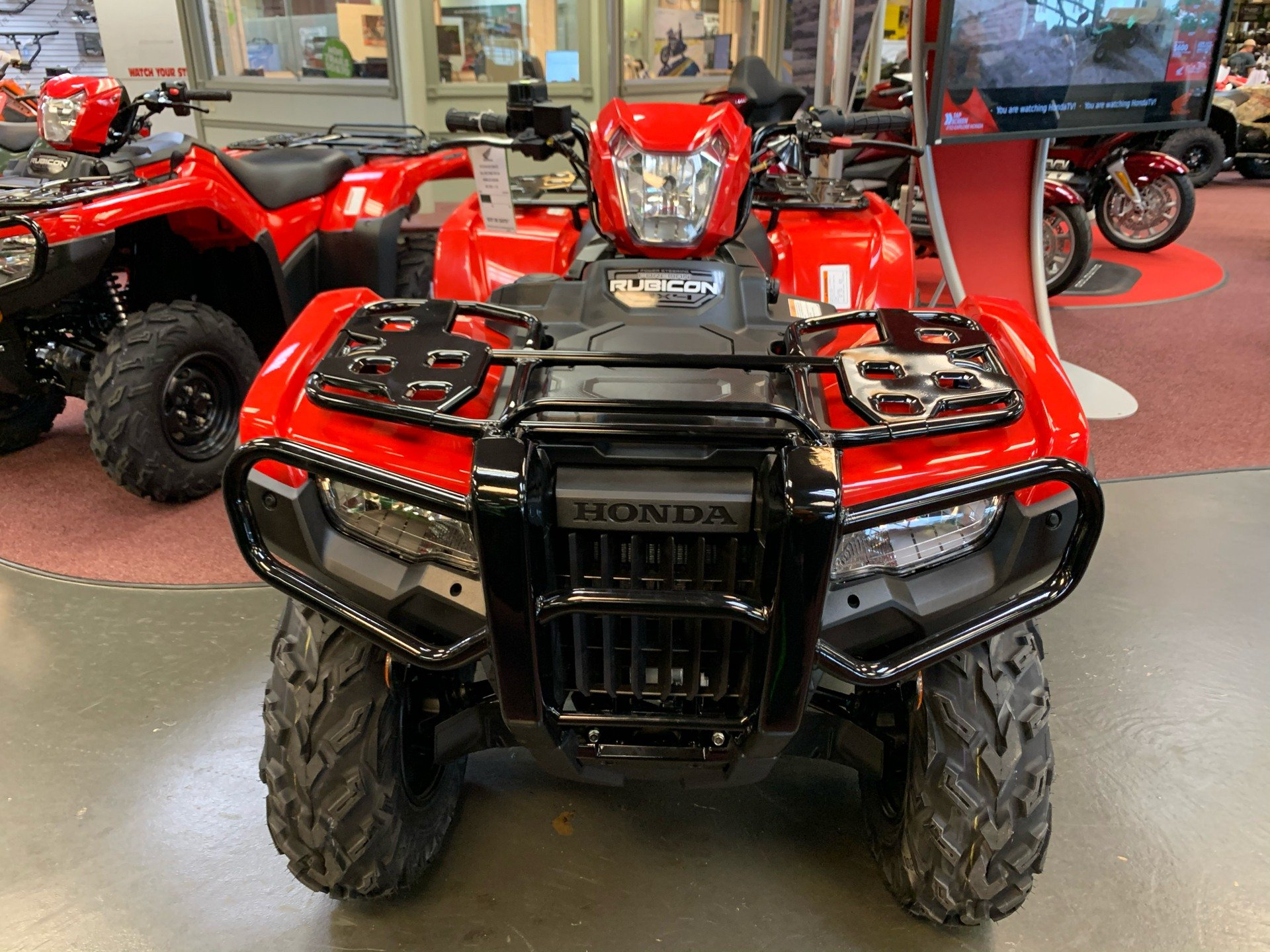 2021 Honda FourTrax Foreman Rubicon 4x4 EPS in Petersburg, West Virginia - Photo 3
