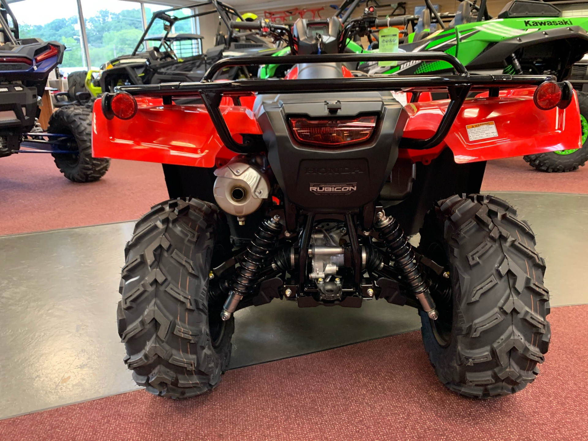 2021 Honda FourTrax Foreman Rubicon 4x4 EPS in Petersburg, West Virginia - Photo 5