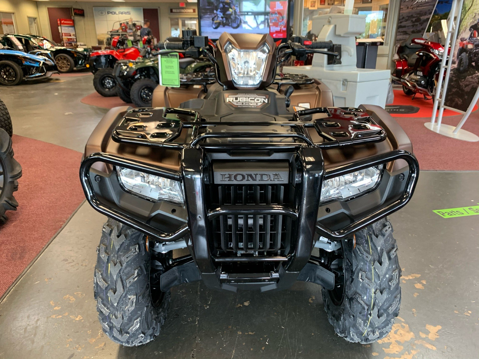 2021 Honda FourTrax Foreman Rubicon 4x4 Automatic DCT EPS Deluxe in Petersburg, West Virginia - Photo 2