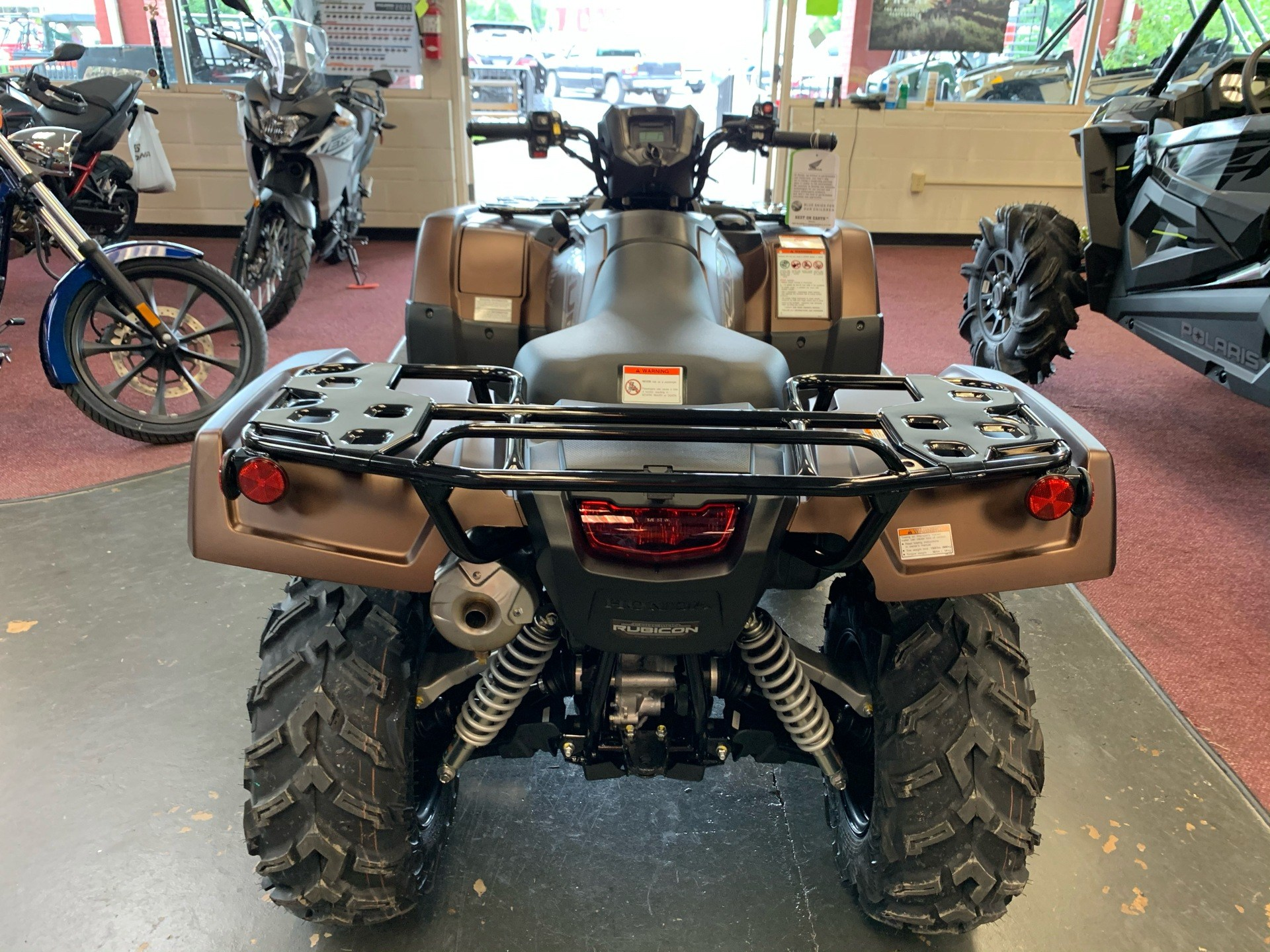 2021 Honda FourTrax Foreman Rubicon 4x4 Automatic DCT EPS Deluxe in Petersburg, West Virginia - Photo 5