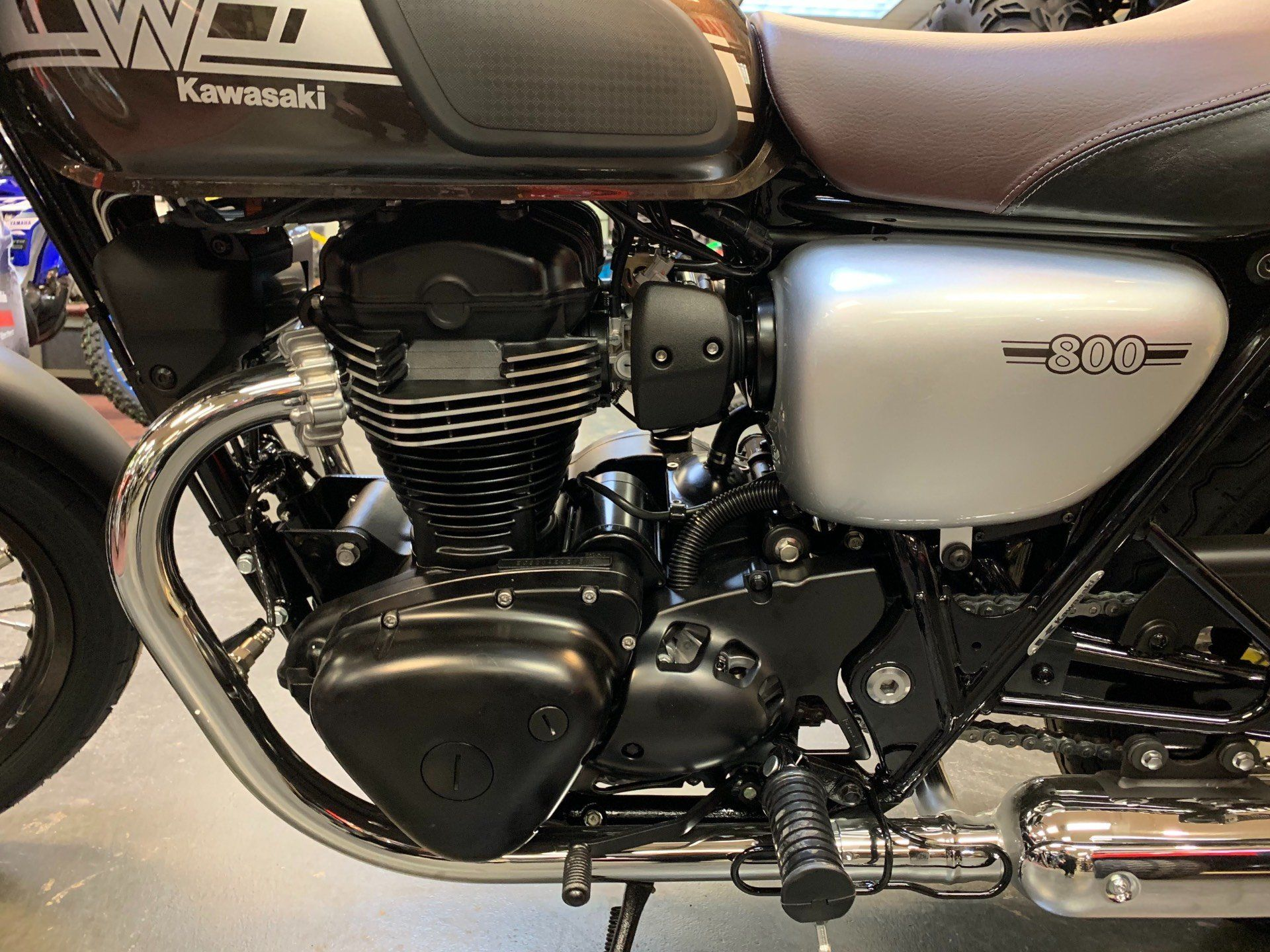 2019 Kawasaki W800 Cafe in Petersburg, West Virginia - Photo 9