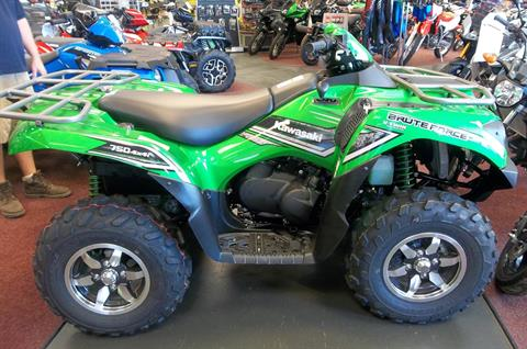 2016 Kawasaki Brute Force 750 4x4i EPS in Petersburg, West Virginia