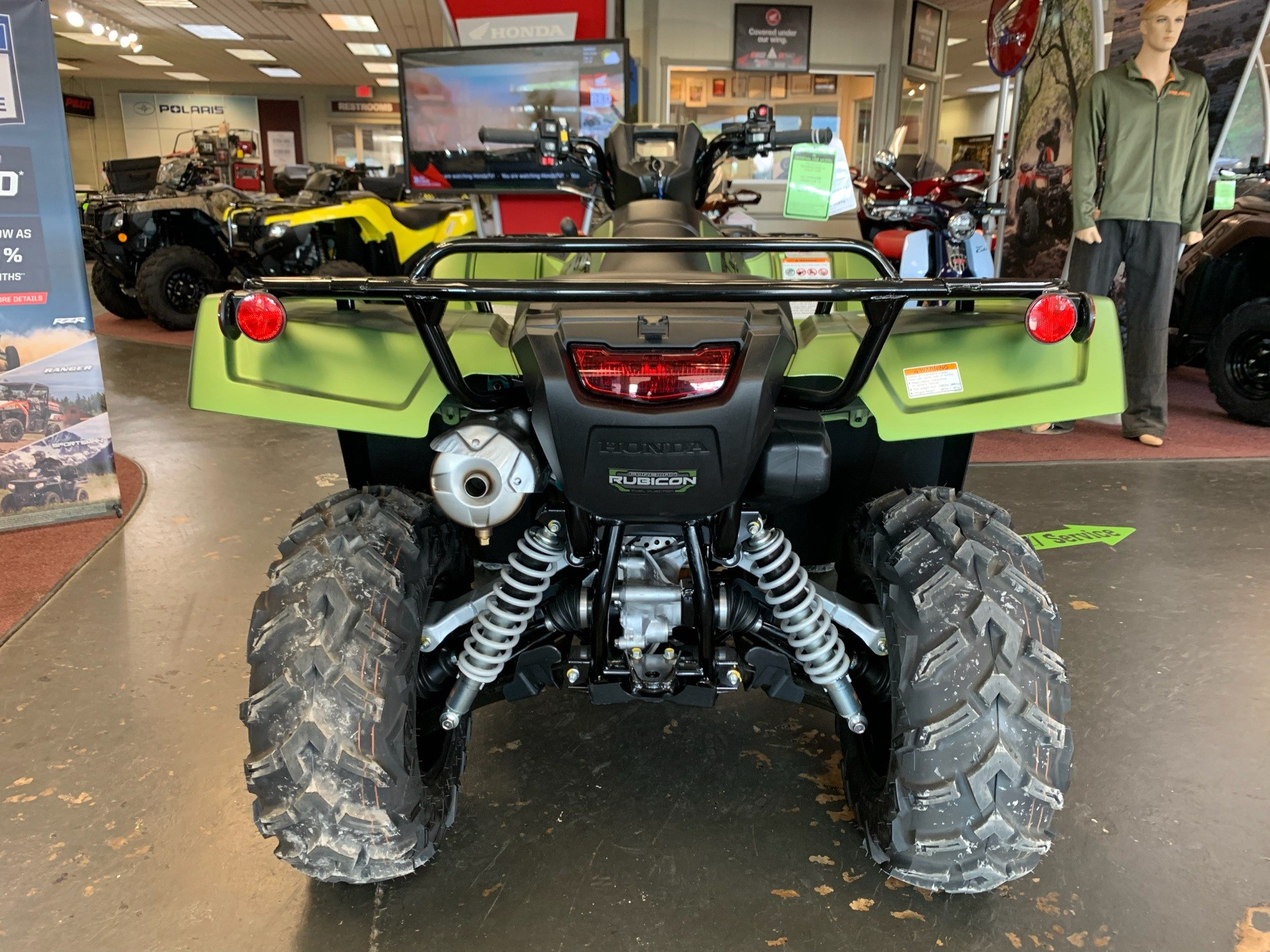 2020 Honda FourTrax Foreman Rubicon 4x4 Automatic DCT EPS Deluxe in Petersburg, West Virginia - Photo 12