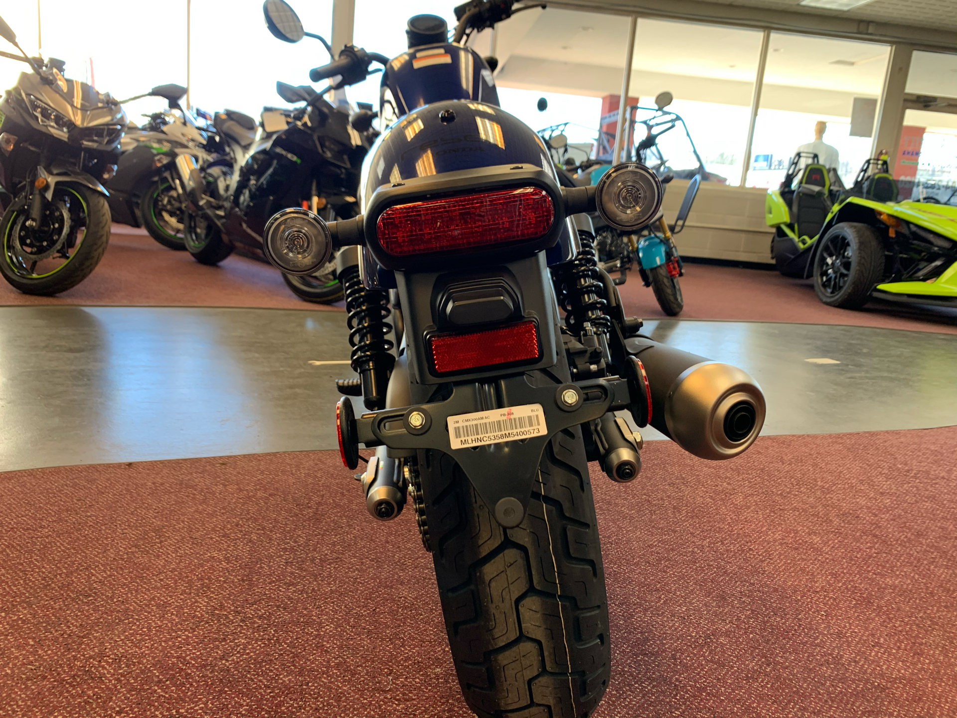 2021 Honda Rebel 300 ABS in Petersburg, West Virginia - Photo 4