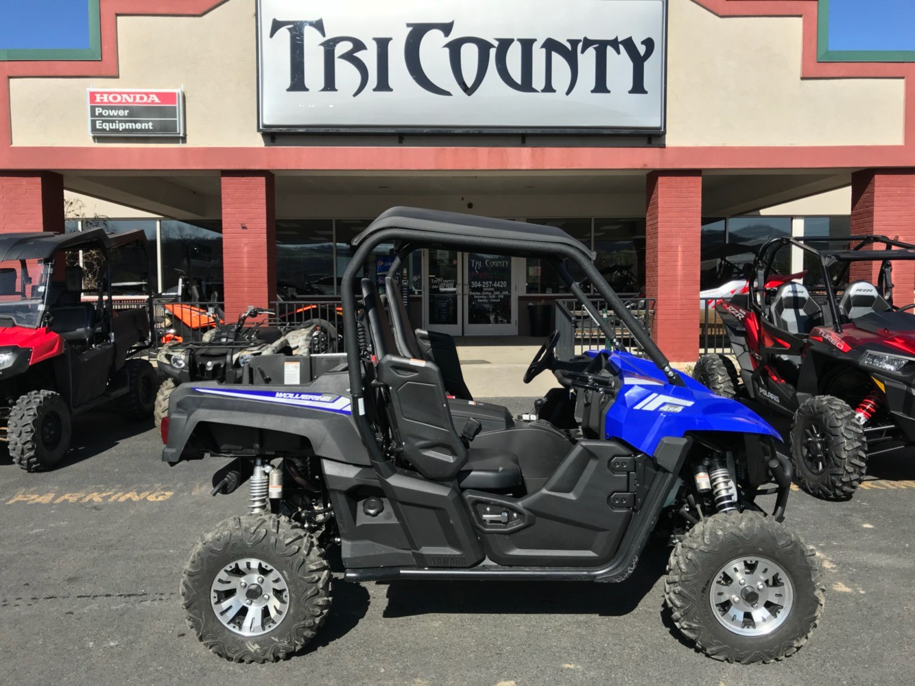 2017 Yamaha Wolverine R-Spec EPS in Petersburg, West Virginia