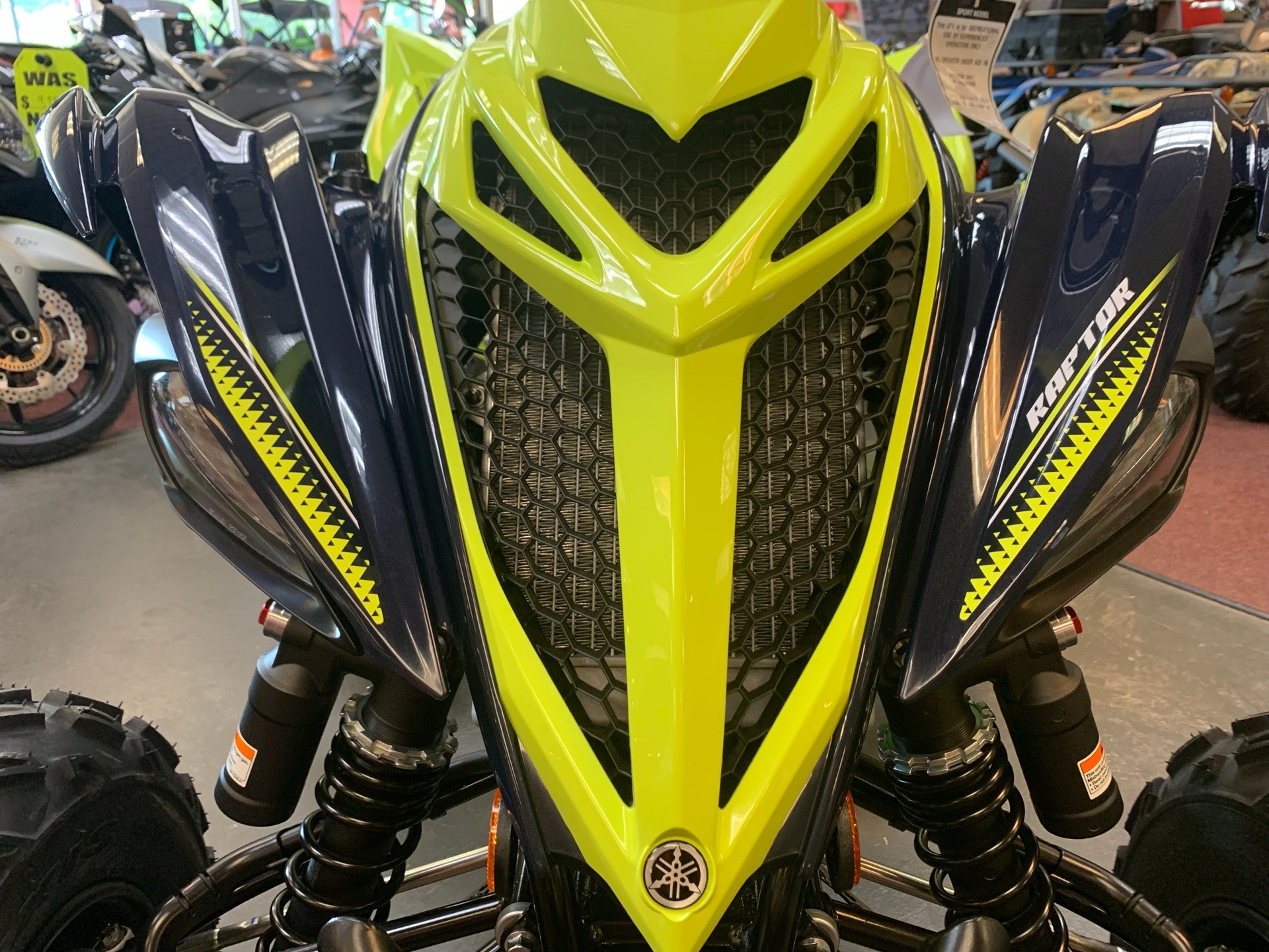 2020 Yamaha Raptor 700R SE in Petersburg, West Virginia - Photo 8