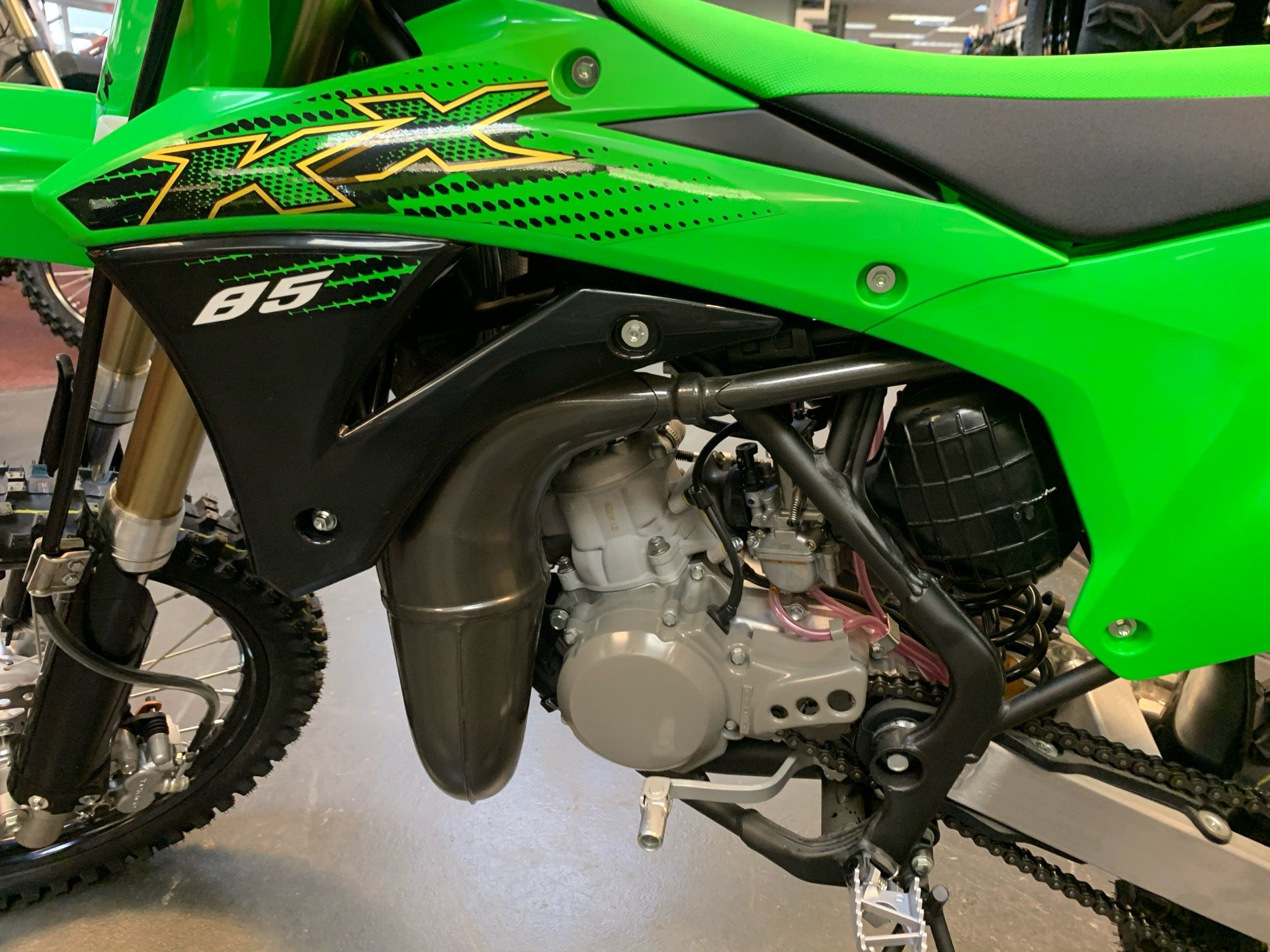 2020 Kawasaki KX 85 in Petersburg, West Virginia - Photo 9