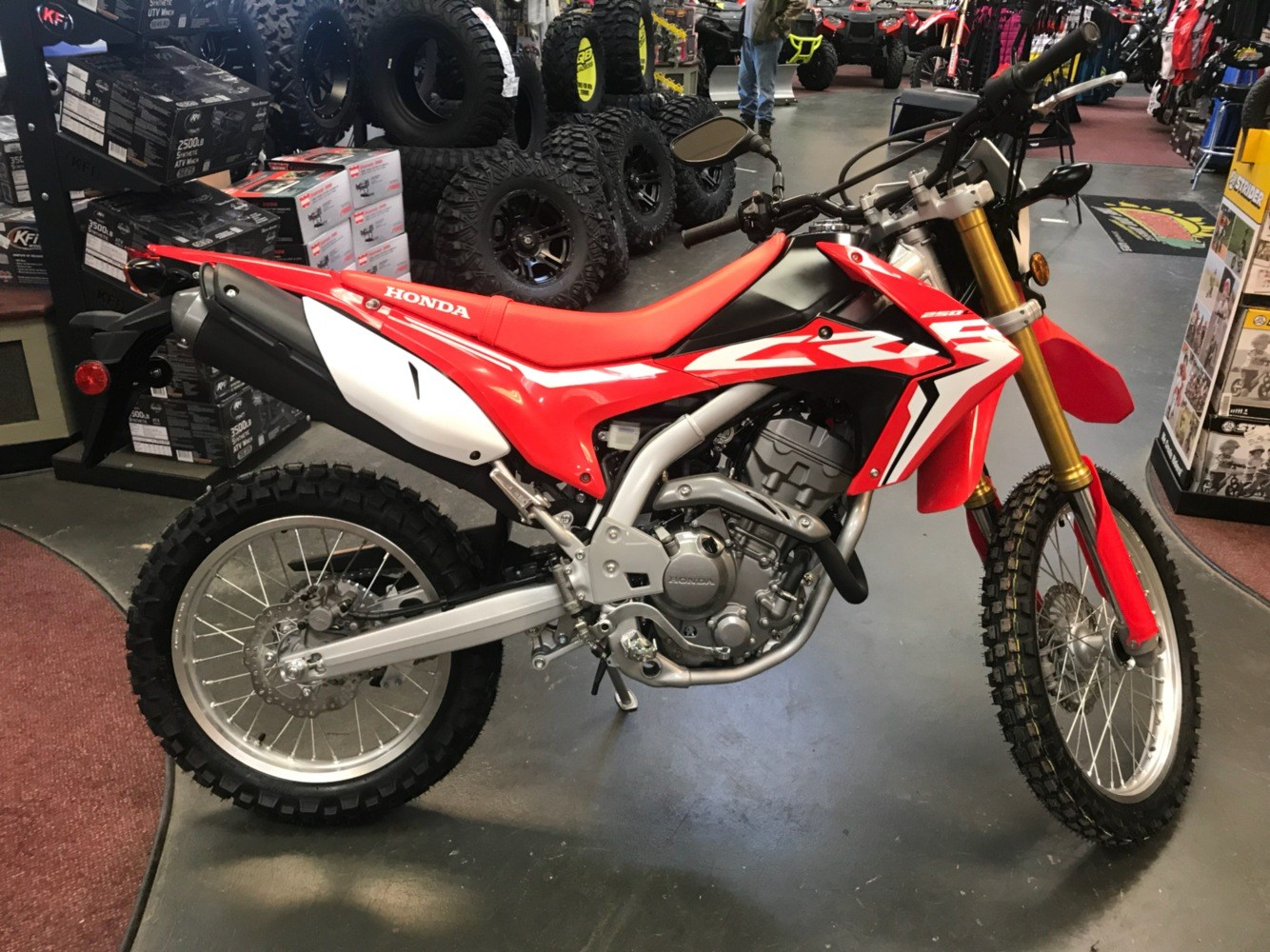2018 Honda Crf250l Motorcycles Petersburg West Virginia