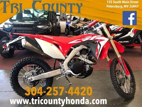 2019 Honda CRF450L in Petersburg, West Virginia - Photo 1