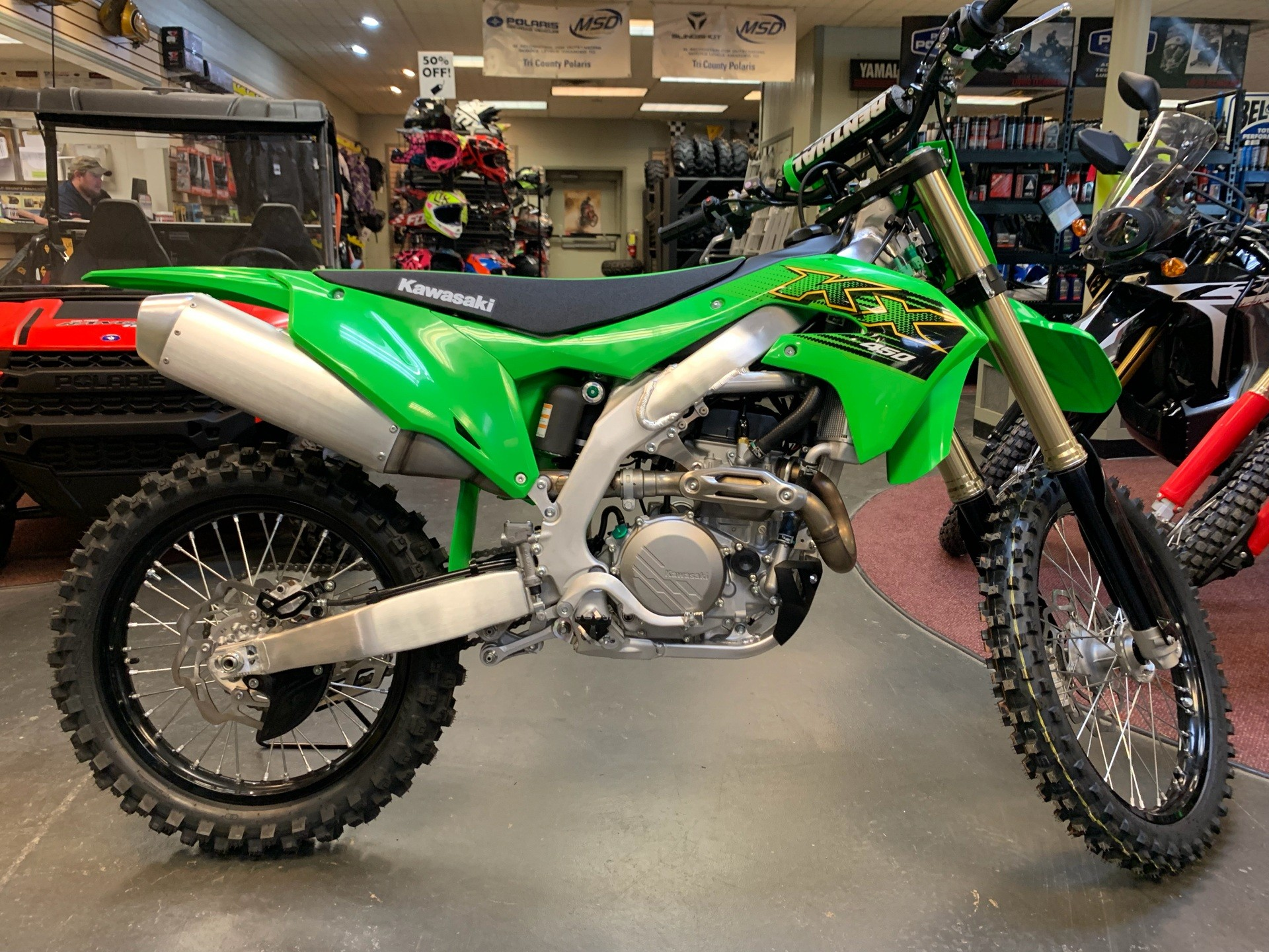 2020 Kawasaki KX 450 in Petersburg, West Virginia - Photo 5