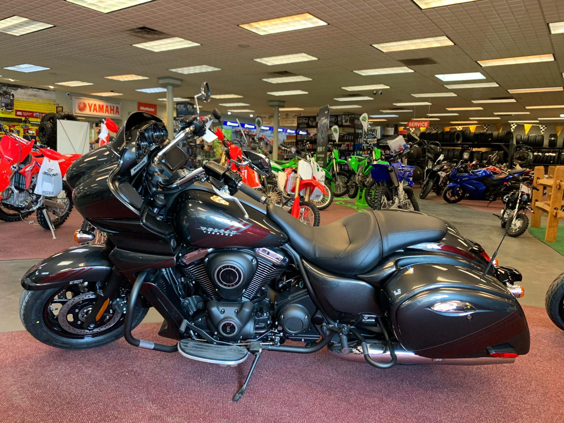 2021 Kawasaki Vulcan 1700 Vaquero ABS in Petersburg, West Virginia - Photo 3