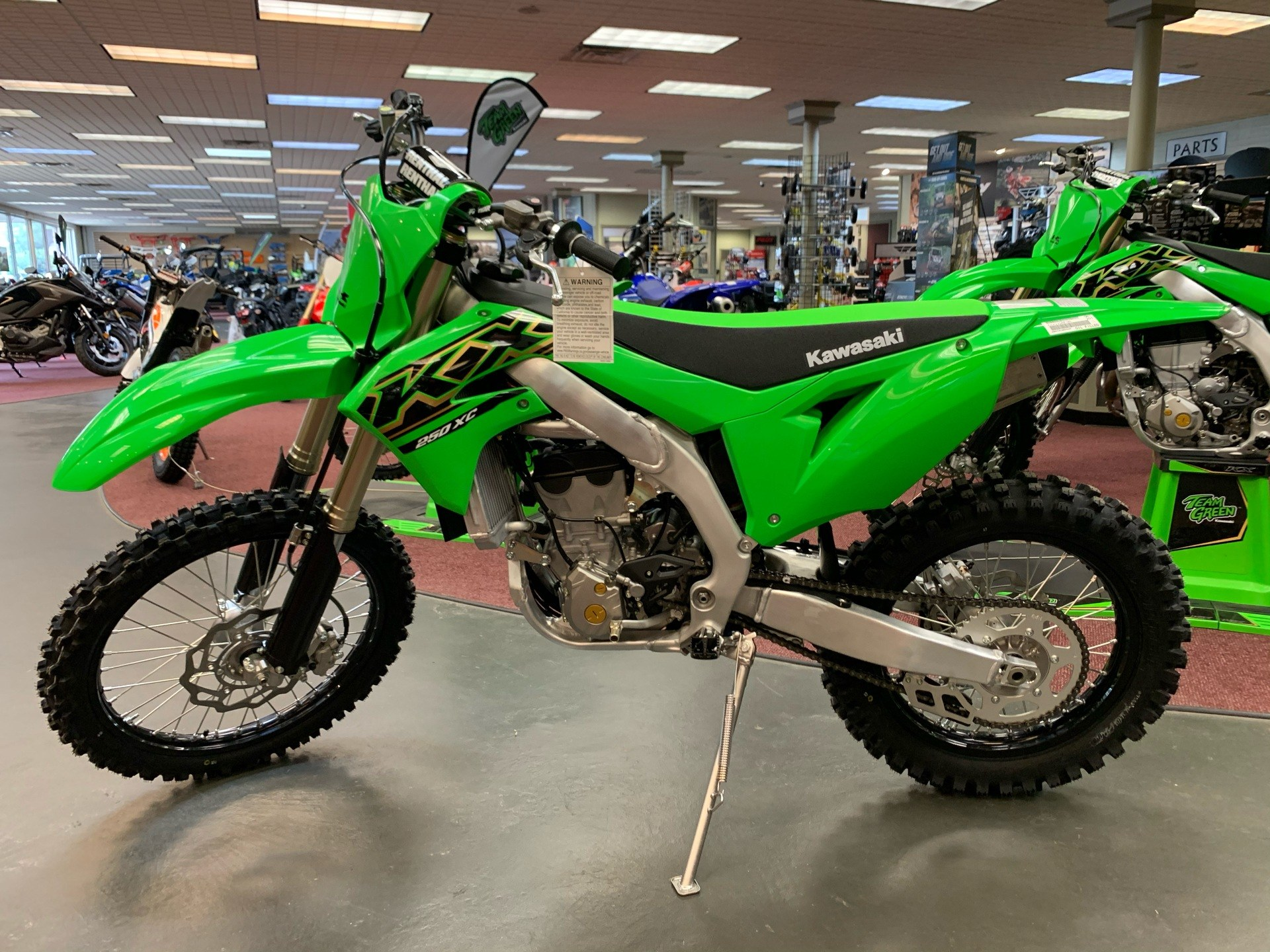 2021 Kawasaki KX 250X in Petersburg, West Virginia - Photo 1