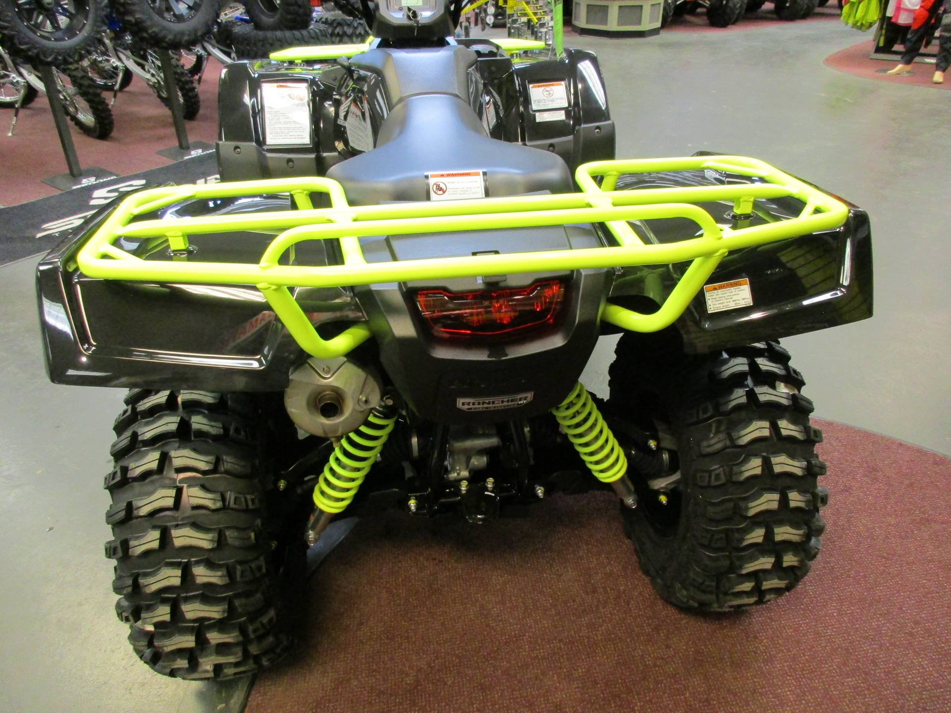 2017 Honda FourTrax Rancher 4x4 DCT IRS EPS in Petersburg, West Virginia
