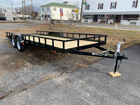 2020 Carry-On Trailers 7x20 Dual Axle in Petersburg, West Virginia
