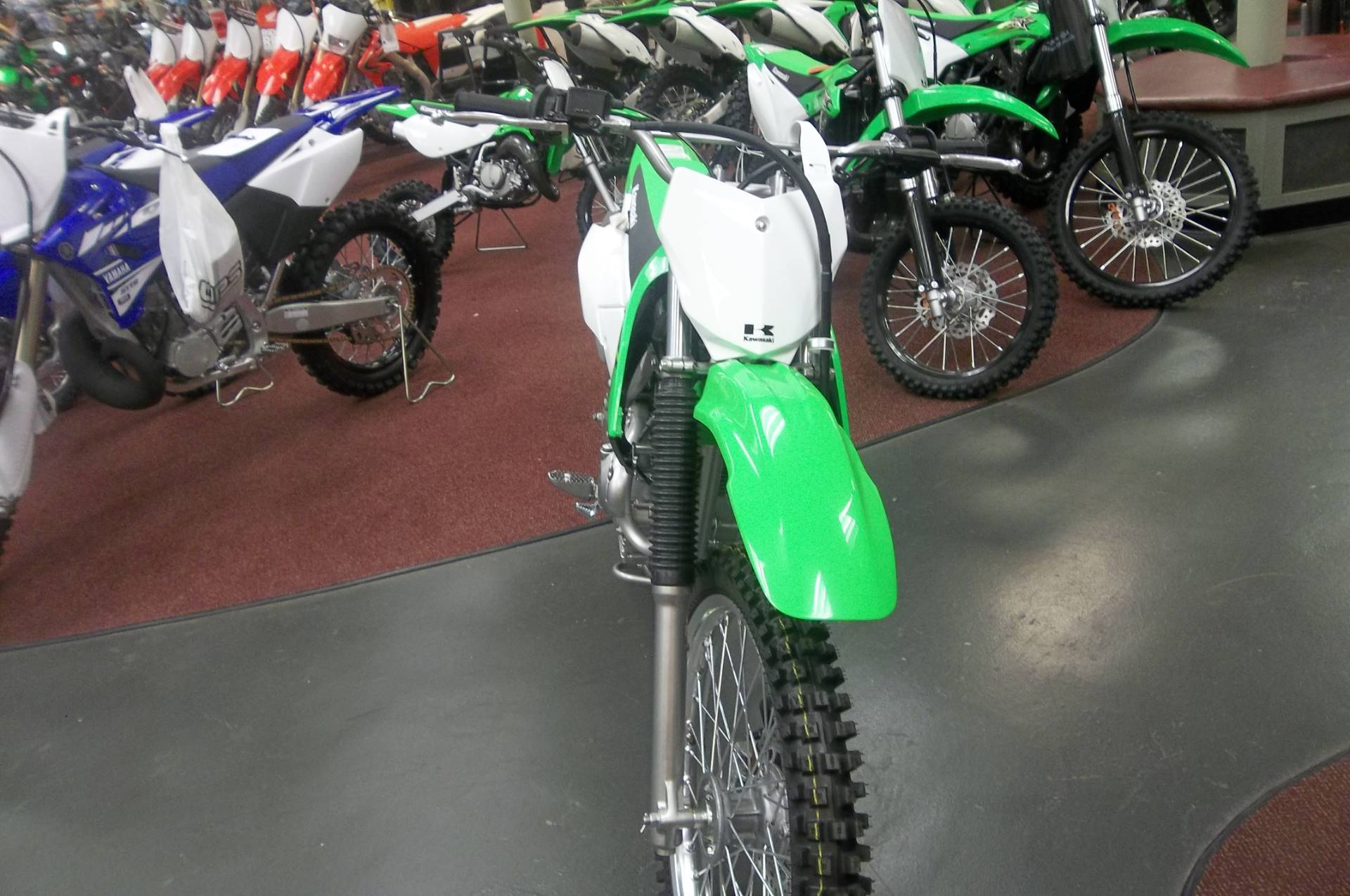 2017 Kawasaki KLX140G in Petersburg, West Virginia