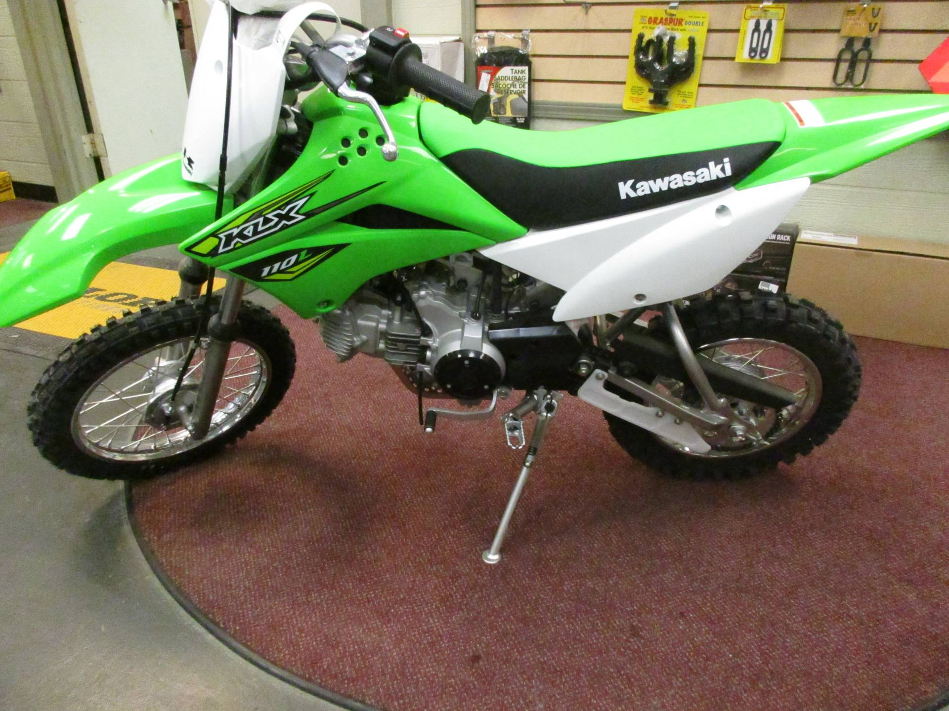 2018 Kawasaki KLX 110L in Petersburg, West Virginia
