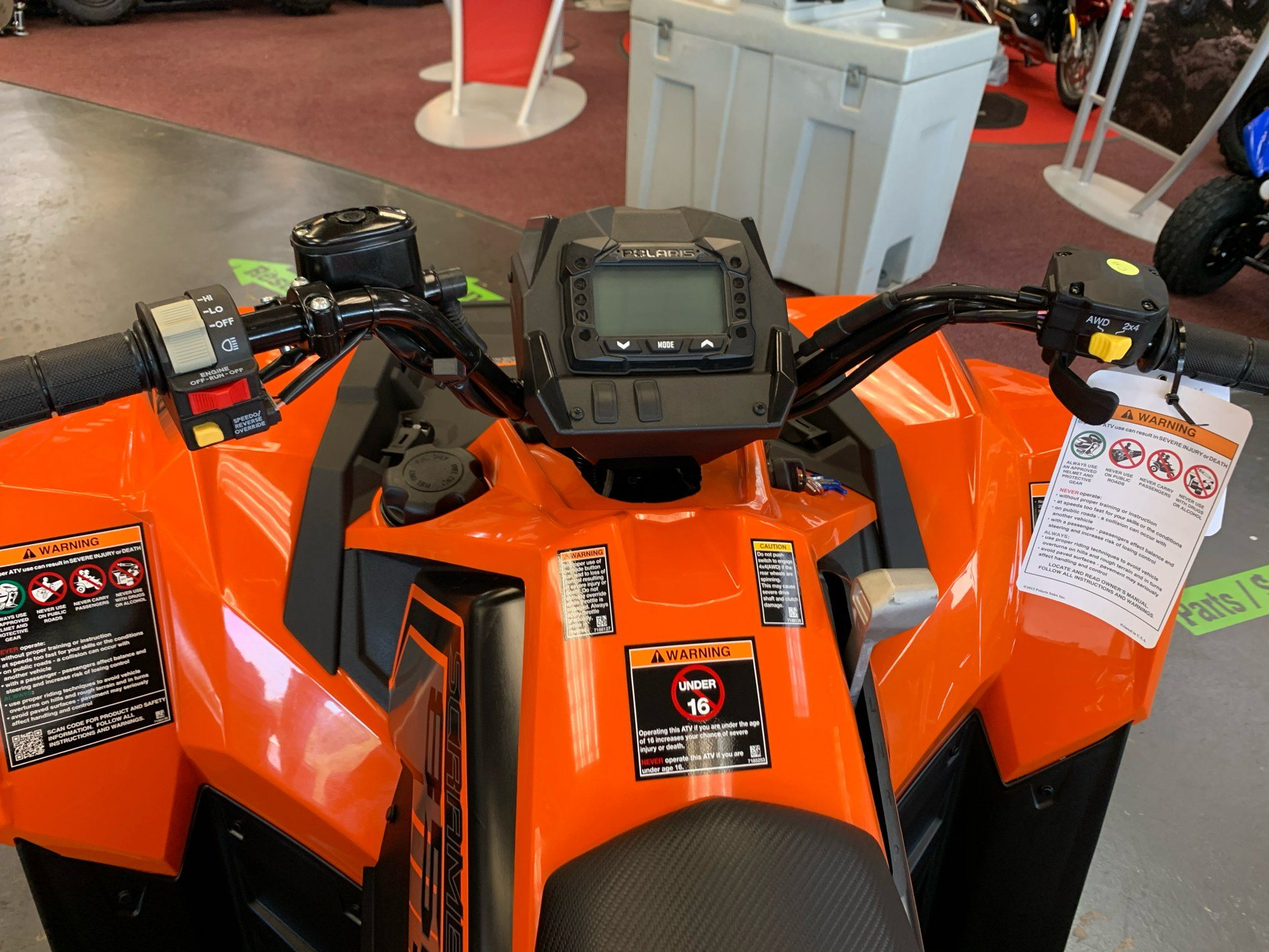 2020 Polaris Scrambler 850 in Petersburg, West Virginia - Photo 7