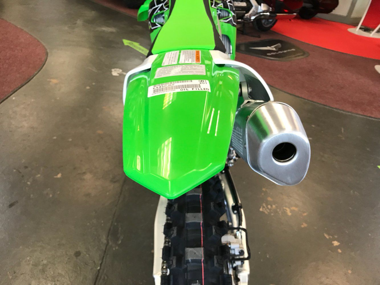2019 Kawasaki KX 450 in Petersburg, West Virginia - Photo 12