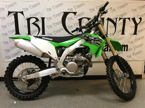2019 Kawasaki KX 450 in Petersburg, West Virginia
