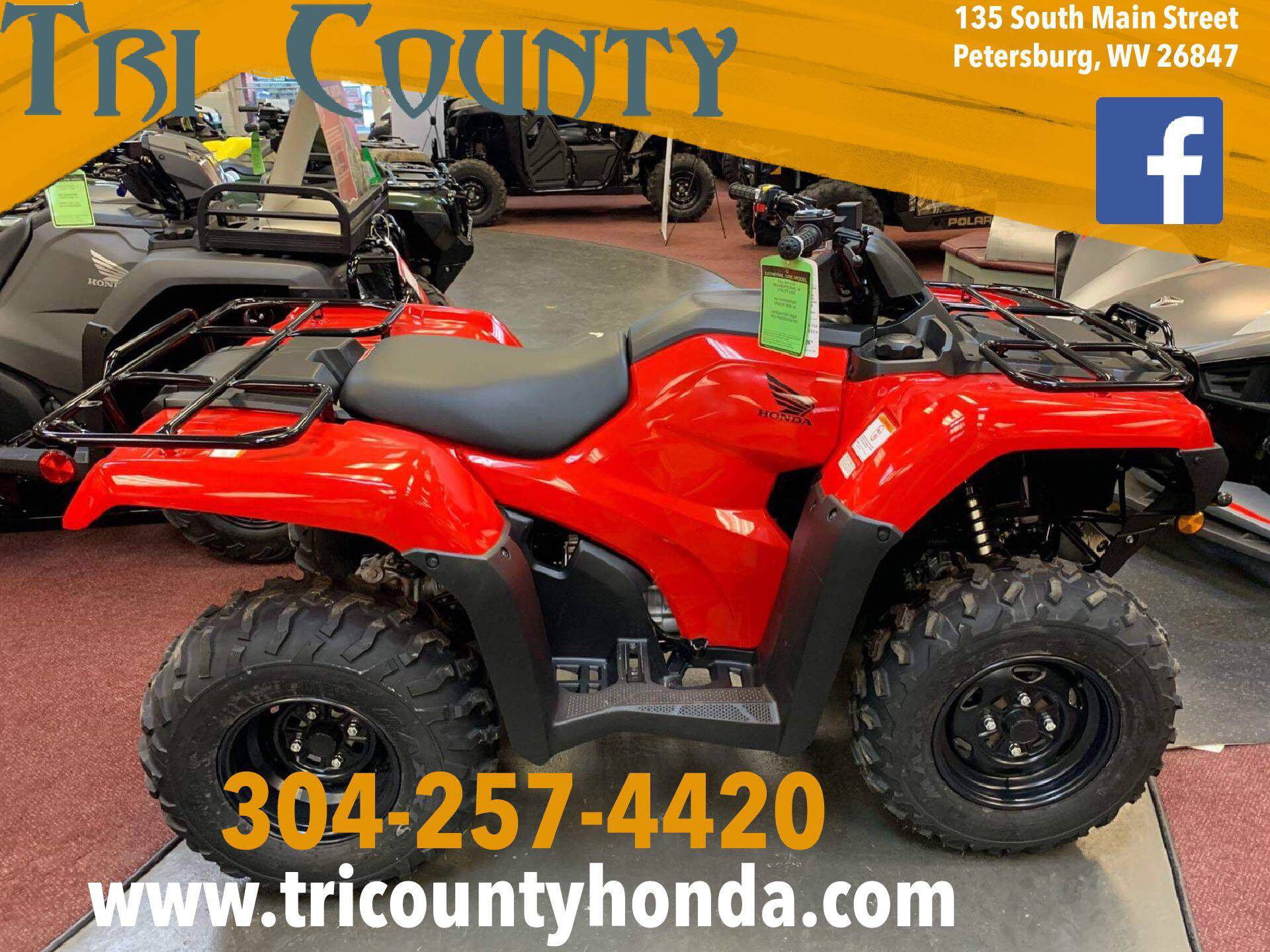 2019 Honda FourTrax Rancher 4x4 in Petersburg, West Virginia