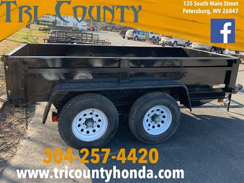 2019 Carry-On Trailers 5X10 DUMP TAILER in Petersburg, West Virginia
