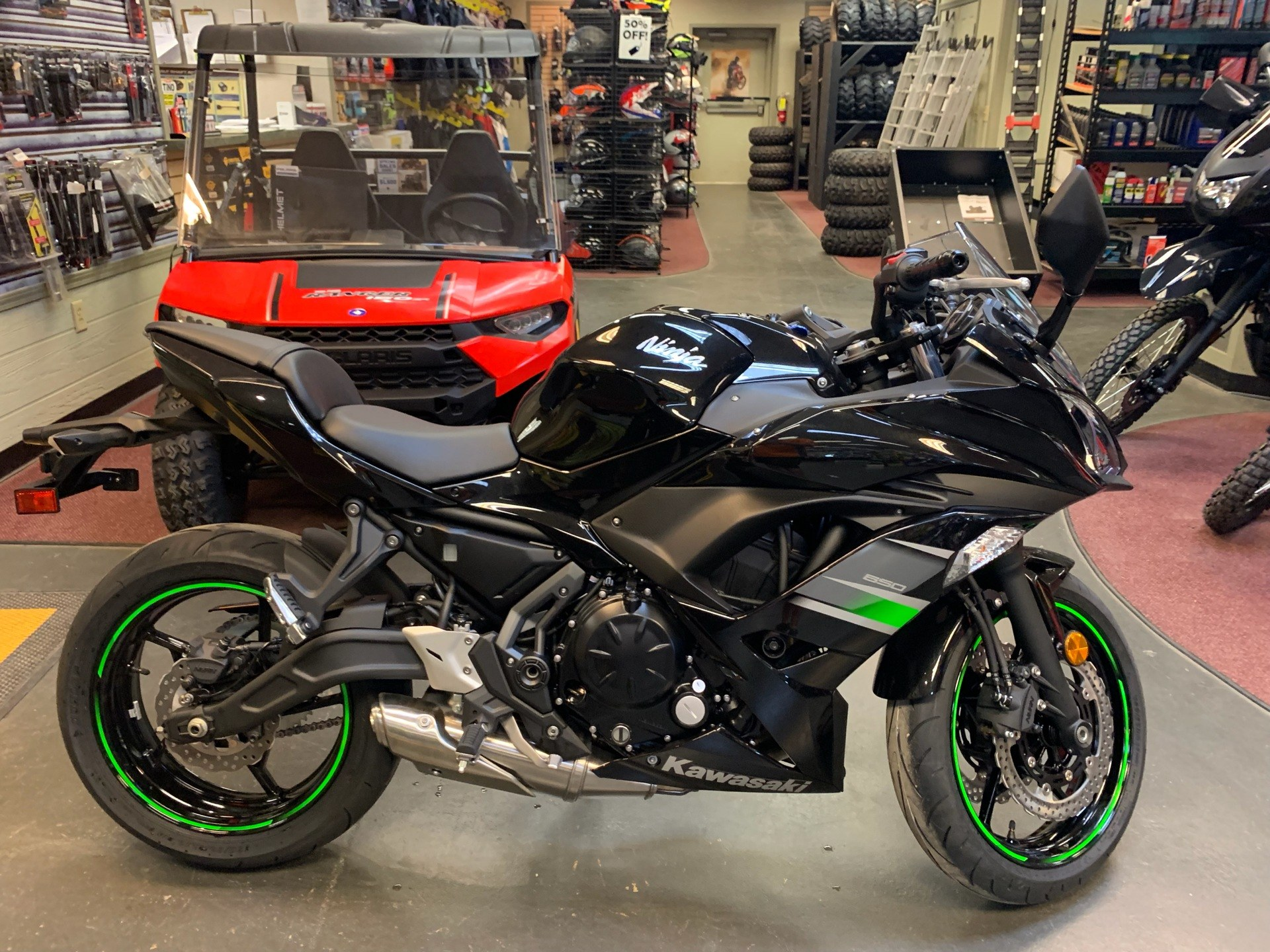 2019 Kawasaki Ninja 650 in Petersburg, West Virginia - Photo 4