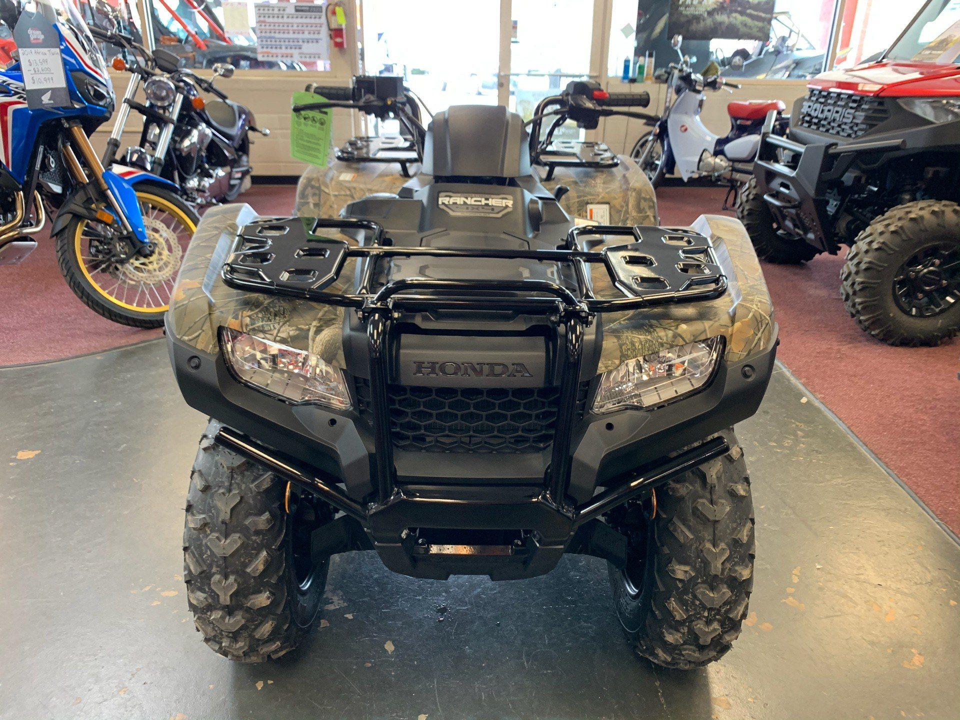 2020 Honda FourTrax Rancher 4x4 Automatic DCT EPS in Petersburg, West Virginia - Photo 3