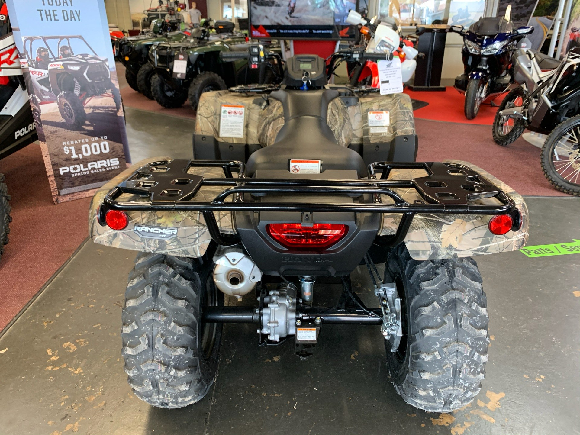 2020 Honda FourTrax Rancher 4x4 Automatic DCT EPS in Petersburg, West Virginia - Photo 5