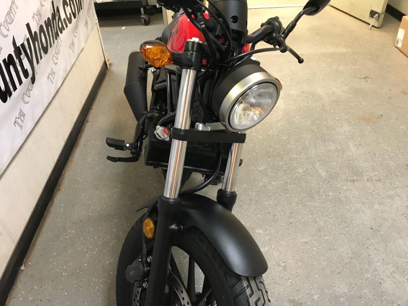 2018 Honda Rebel 300 6