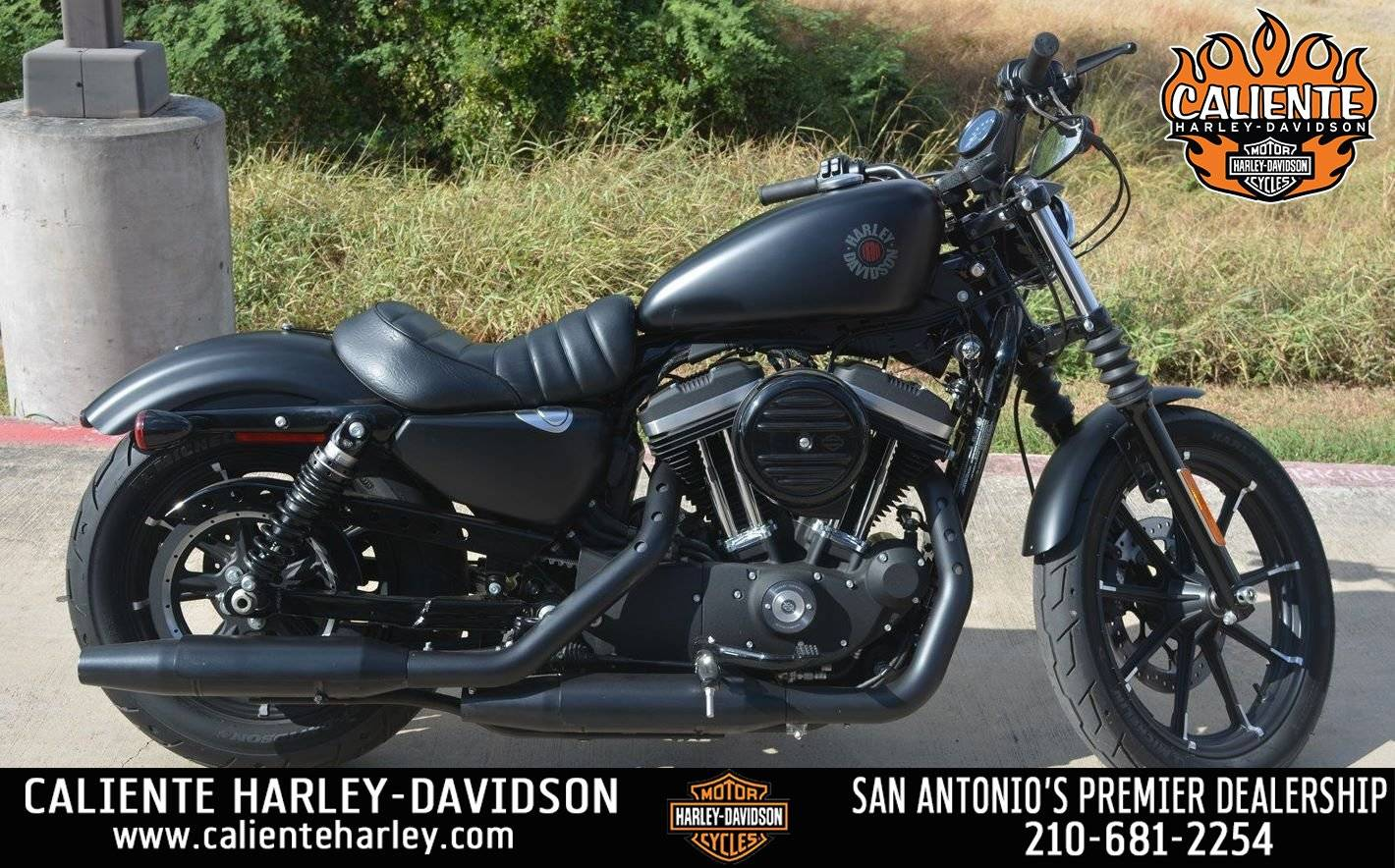 Used 2019 Harley Davidson Iron 883 Motorcycles In San Antonio Tx 421857 Black Denim