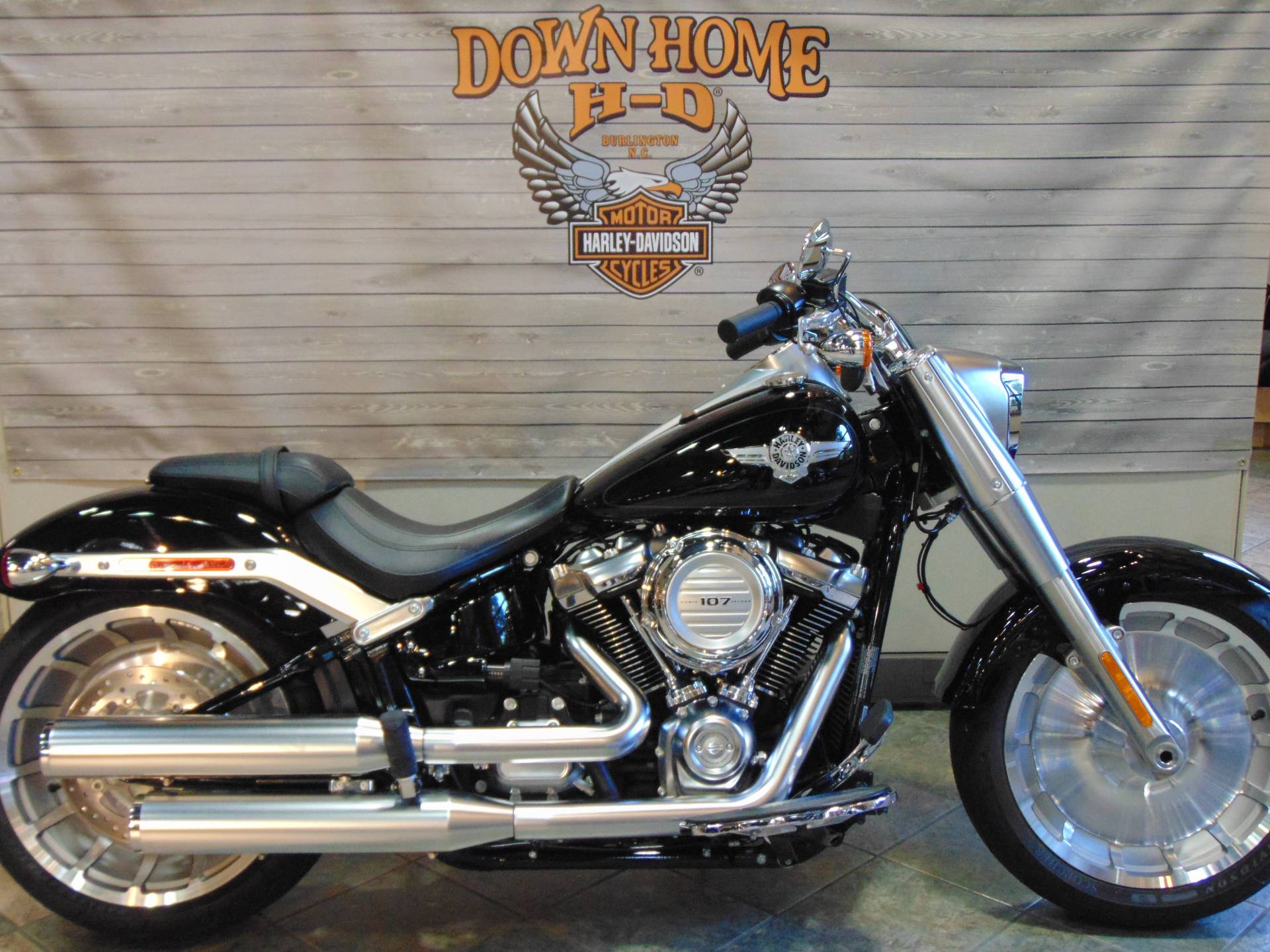 2019 Harley-Davidson Fat Boy® 107 in Burlington, North Carolina - Photo 1