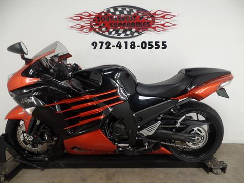 2014 Kawasaki Ninja® ZX™-14R ABS in Dallas, Texas