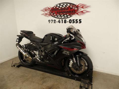 2012 Suzuki GSX-R600™ in Dallas, Texas
