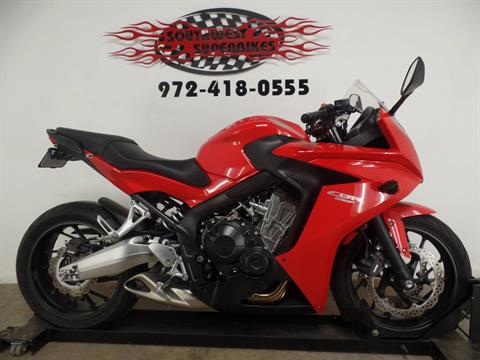 2014 Honda CBR®650F in Dallas, Texas