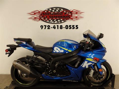 2015 Suzuki GSX-R600 in Dallas, Texas