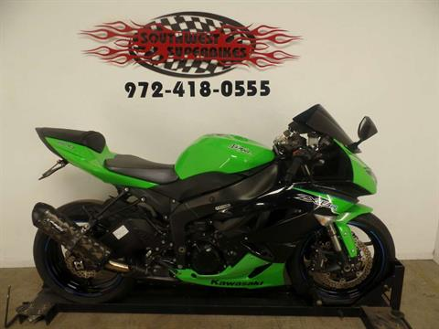 2012 Kawasaki Ninja® ZX™-6R in Dallas, Texas