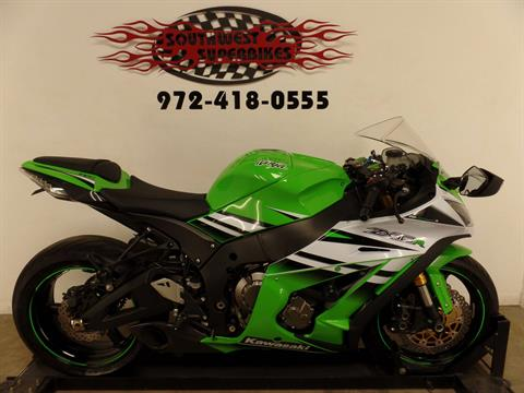 2015 Kawasaki Ninja® ZX™-10R ABS 30th Anniversary in Dallas, Texas