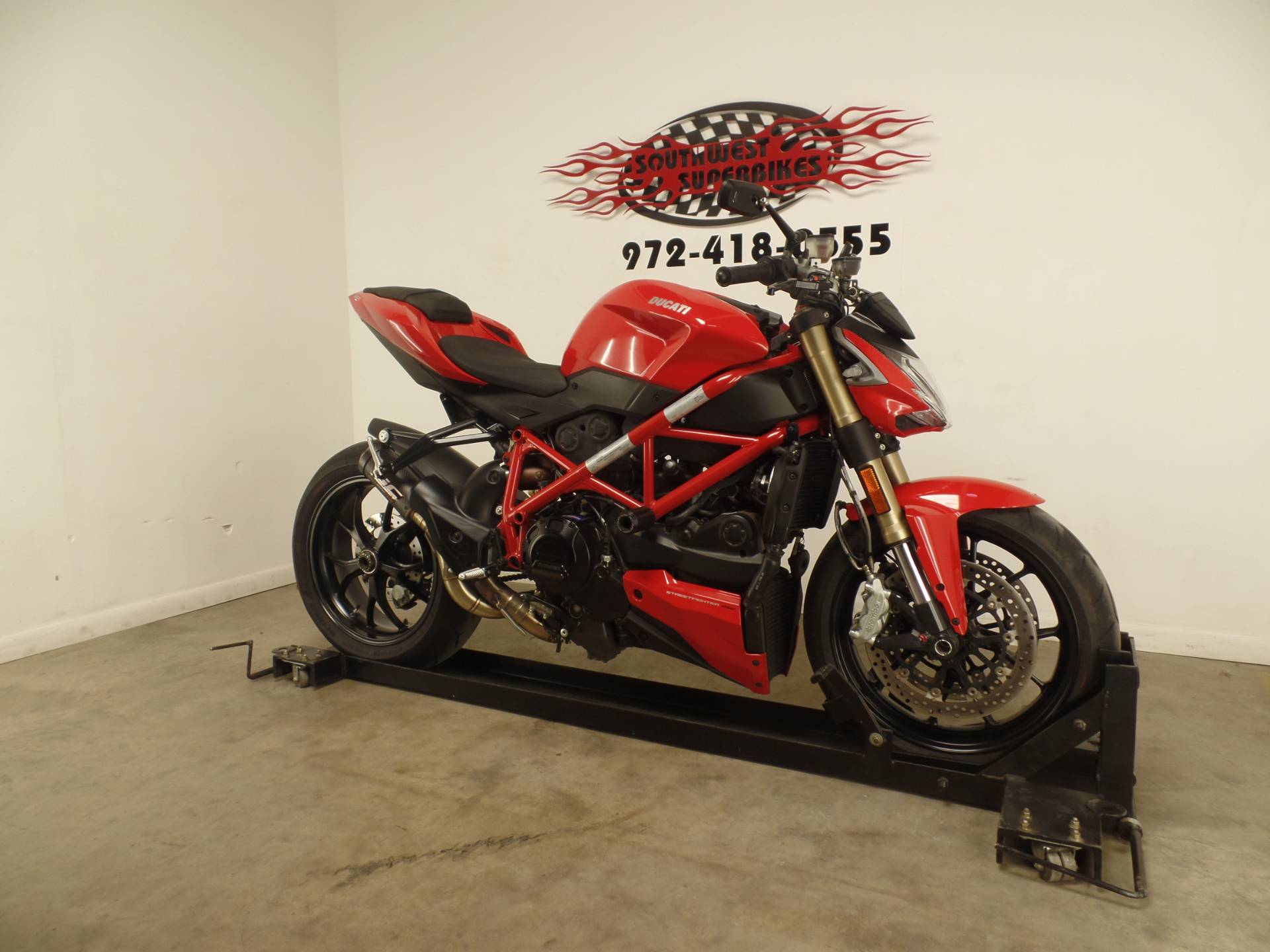 2015 Ducati Streetfighter 848 in Dallas, Texas