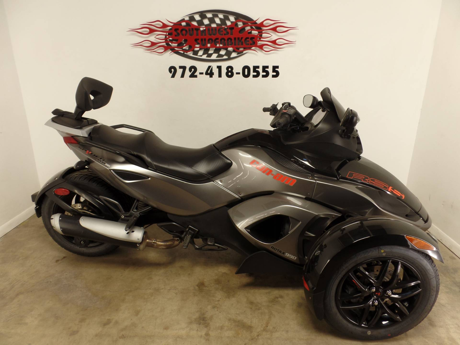 2011 Can-Am Spyder® RS-S SM5 in Dallas, Texas