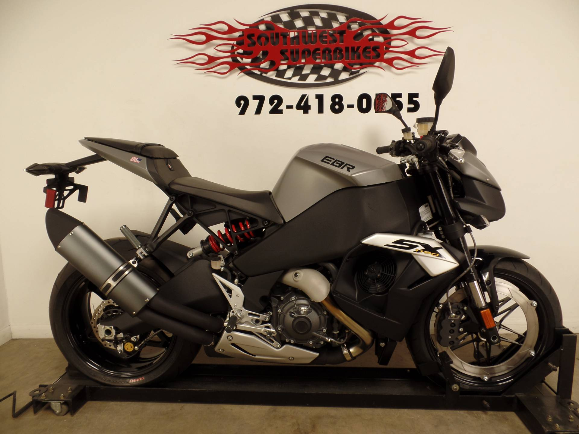 2017 Erik Buell Racing EBR 1190 SX in Dallas, Texas