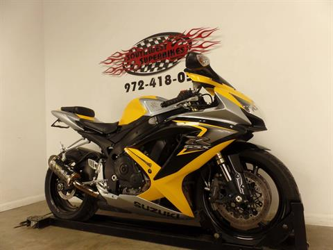 2008 Suzuki GSX-R600™ in Dallas, Texas