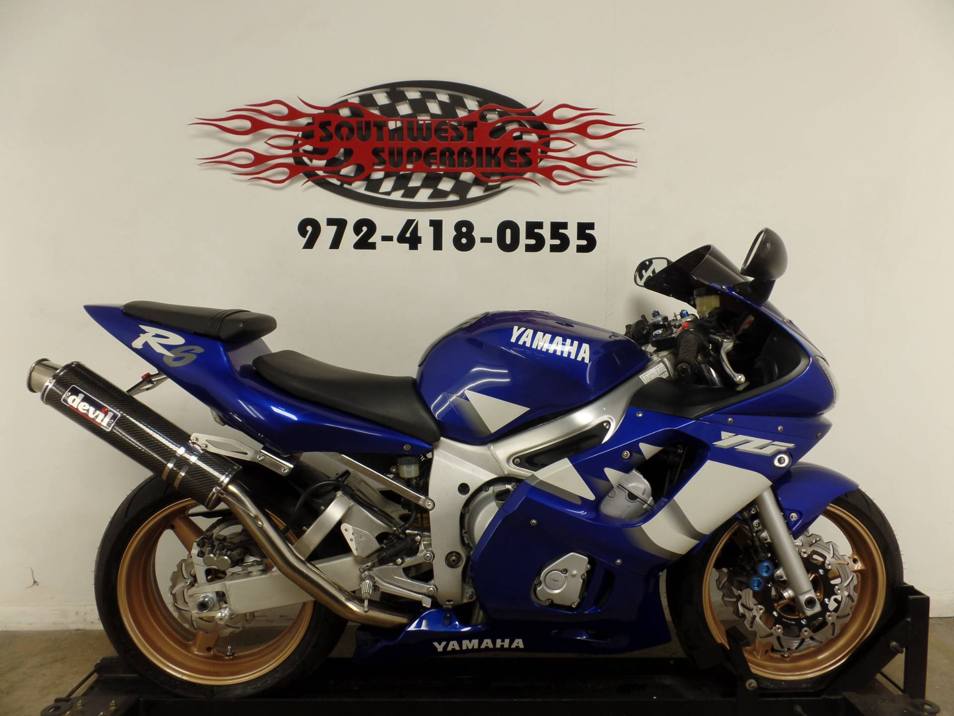 2000 Yamaha YZFR6 in Dallas, Texas