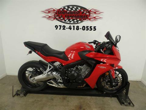 2014 Honda CBR®650F in Dallas, Texas