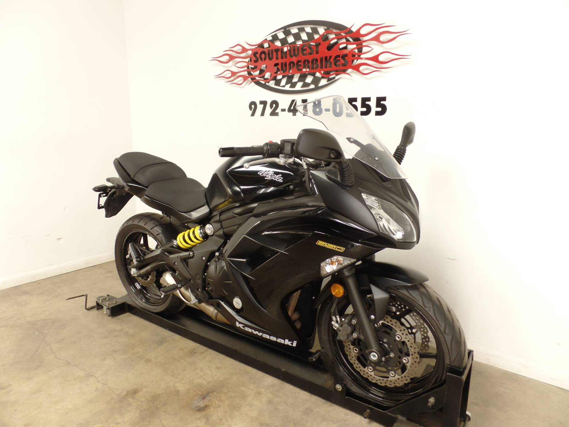 2013 Kawasaki Ninja® 650 in Dallas, Texas