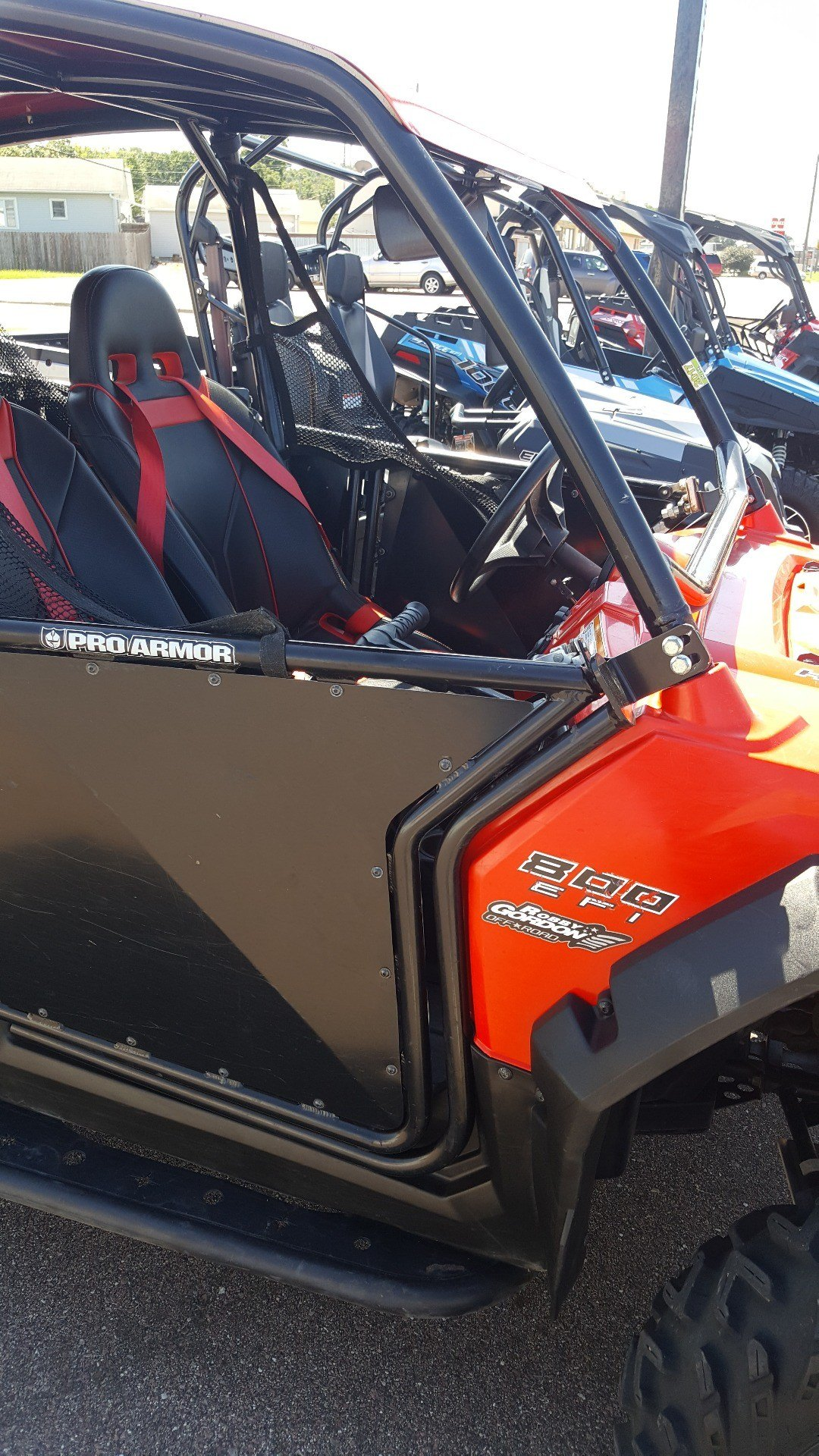 2012 Polaris Ranger RZR® 4 800 Robby Gordon Edition in Sioux City, Iowa
