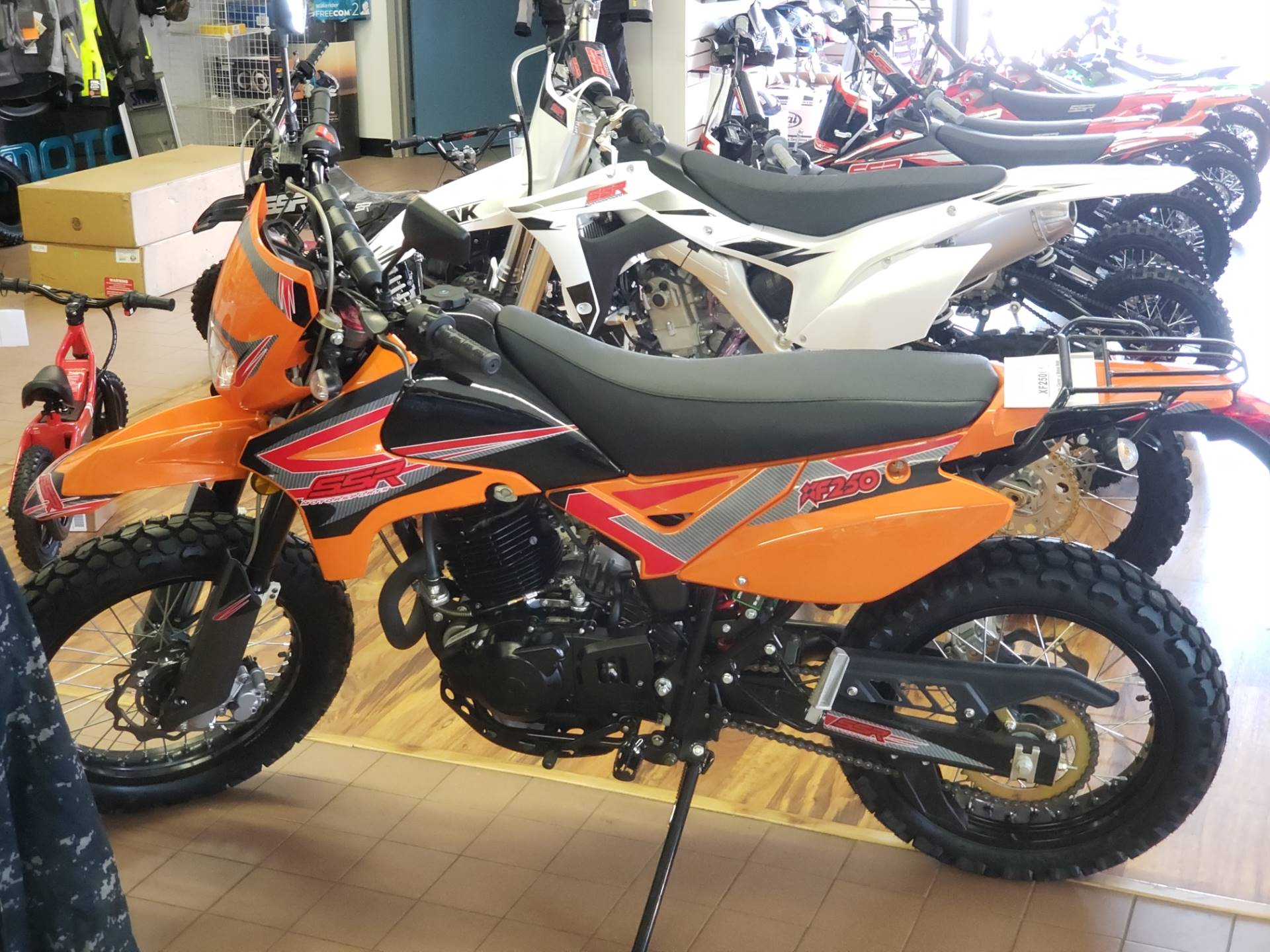 2020 SSR Motorsports XF250 Dual Sport in Sioux City, Iowa - Photo 1